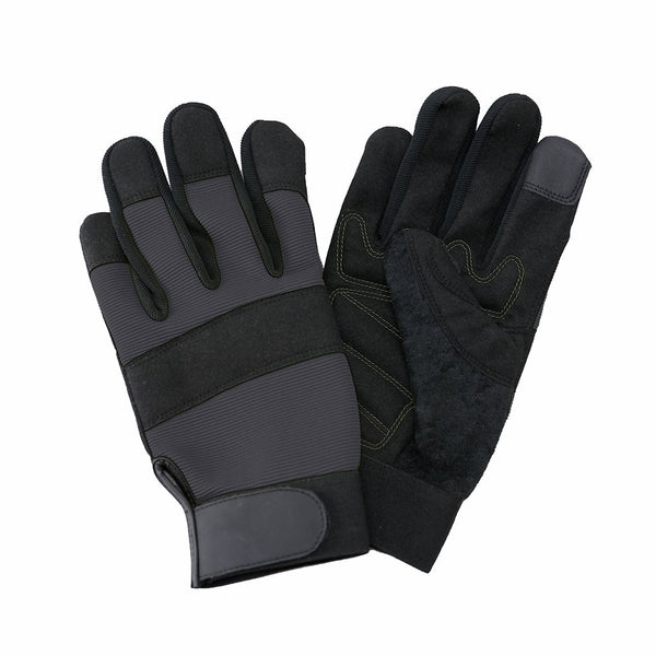 Kent & Stowe Flex Protect Multi-Use Men's Gloves | Medium | Grey | DeWaldens Garden Centre
