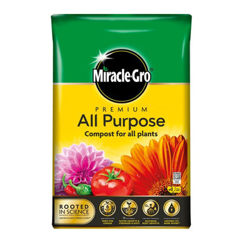 Miracle Gro Premium All Purpose Compost - DeWaldens Garden Centre