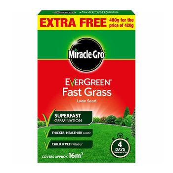 Miracle Gro Evergreen Fast Grass Lawn Seed - DeWaldens Garden Centre