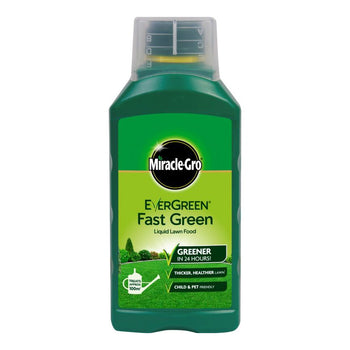 Miracle Gro Evergreen Fast Green Liquid Concentrate - DeWaldens Garden Centre