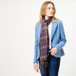 Ness Wilfred Scarf - Old Town Classic Check - DeWaldens Garden Centre
