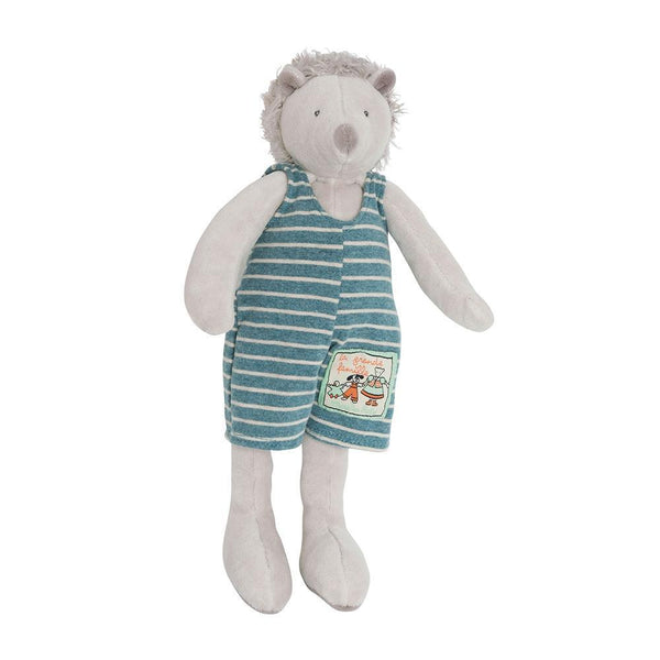 Moulin Roty Small Soft Toy | Leon The Hedgehog | DeWaldens Garden Centre