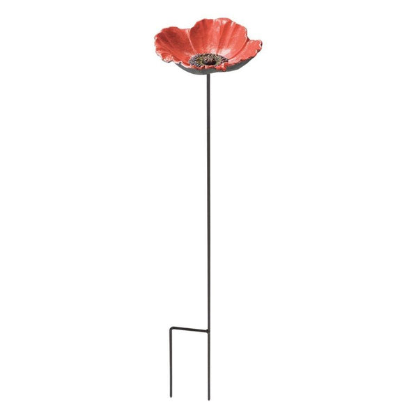 Gardman Cast Iron Poppy Feeder - DeWaldens Garden Centre