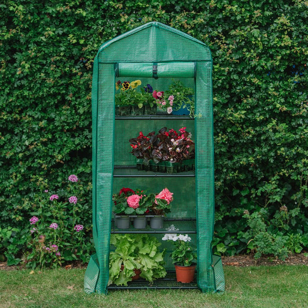 Grow It Premium 4 Tier Compact Growhouse - DeWaldens Garden Centre