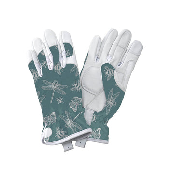 Kent & Stowe Flutter Bugs Leather Gloves - DeWaldens Garden Centre