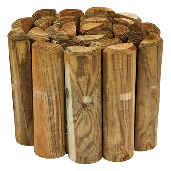 Gardman Wooden Log Roll - DeWaldens Garden Centre