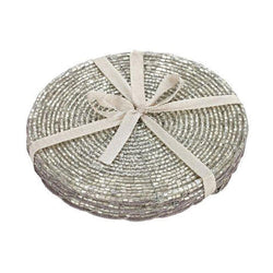 Sifcon Beaded Coaster Set of 4 - DeWaldens Garden Centre