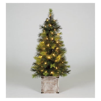 Snowtime Scots Pine Porch Tree 4ft - DeWaldens Garden Centre