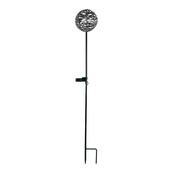 Cole & Bright Solar Infinity Pewter Stake Light - DeWaldens Garden Centre