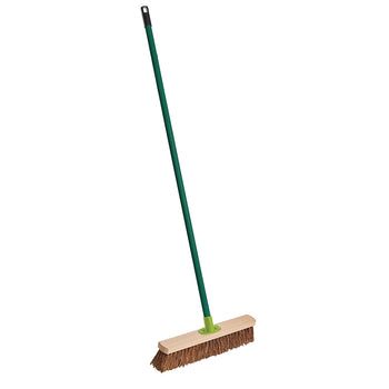 Gardener's Mate Stiff Bassine Yard Broom - DeWaldens Garden Centre