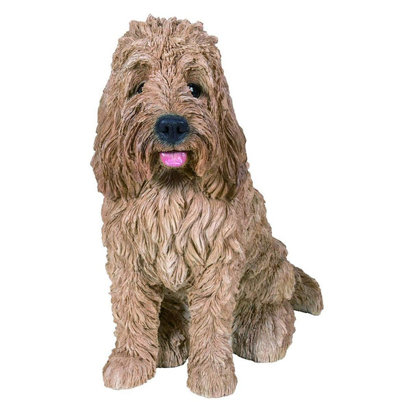 Vivid Arts Sitting Golden Cockapoo