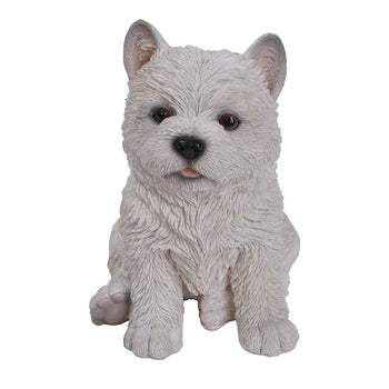 Vivid Arts West Highland Terrier Sitting - DeWaldens Garden Centre