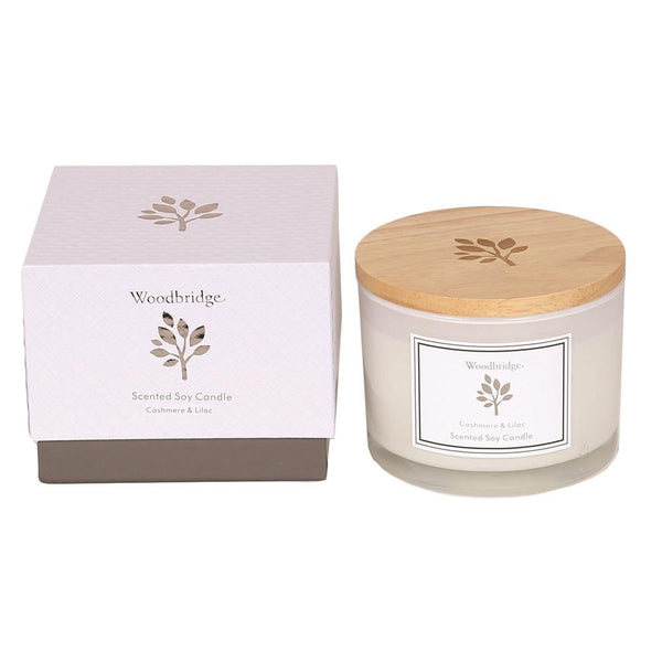 Woodbridge Large Soy Candle - DeWaldens Garden Centre