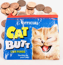 Load image into Gallery viewer, Cat Butt Coin Purse
