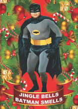 Load image into Gallery viewer, Batman Smells Christmas Card