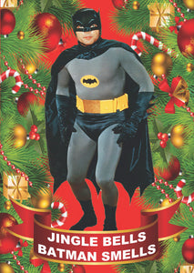 Batman Smells Christmas Card