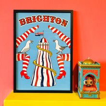 Load image into Gallery viewer, Brighton Art Print