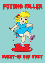 Load image into Gallery viewer, Kitsch N Cute Psycho Killer Greetings Card