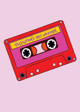 Load image into Gallery viewer, Valentines Mixtape Greetings Card