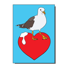 Load image into Gallery viewer, I Love Seagulls Greetings Card