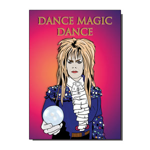 The Labyrinth Dance Magic Dance Card