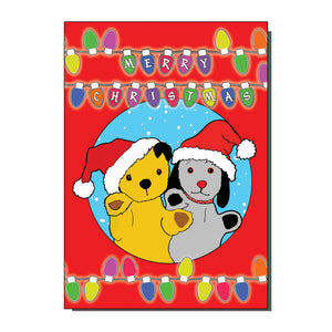 Sooty And Sweep Christmas Card