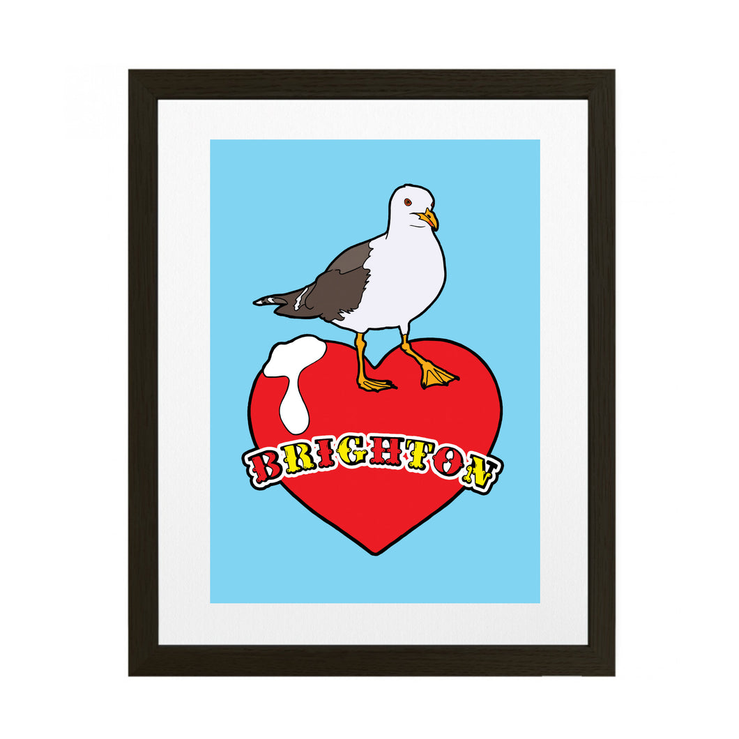 Brighton Love Art Print