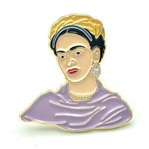 Frida Kahlo Enamel Pin