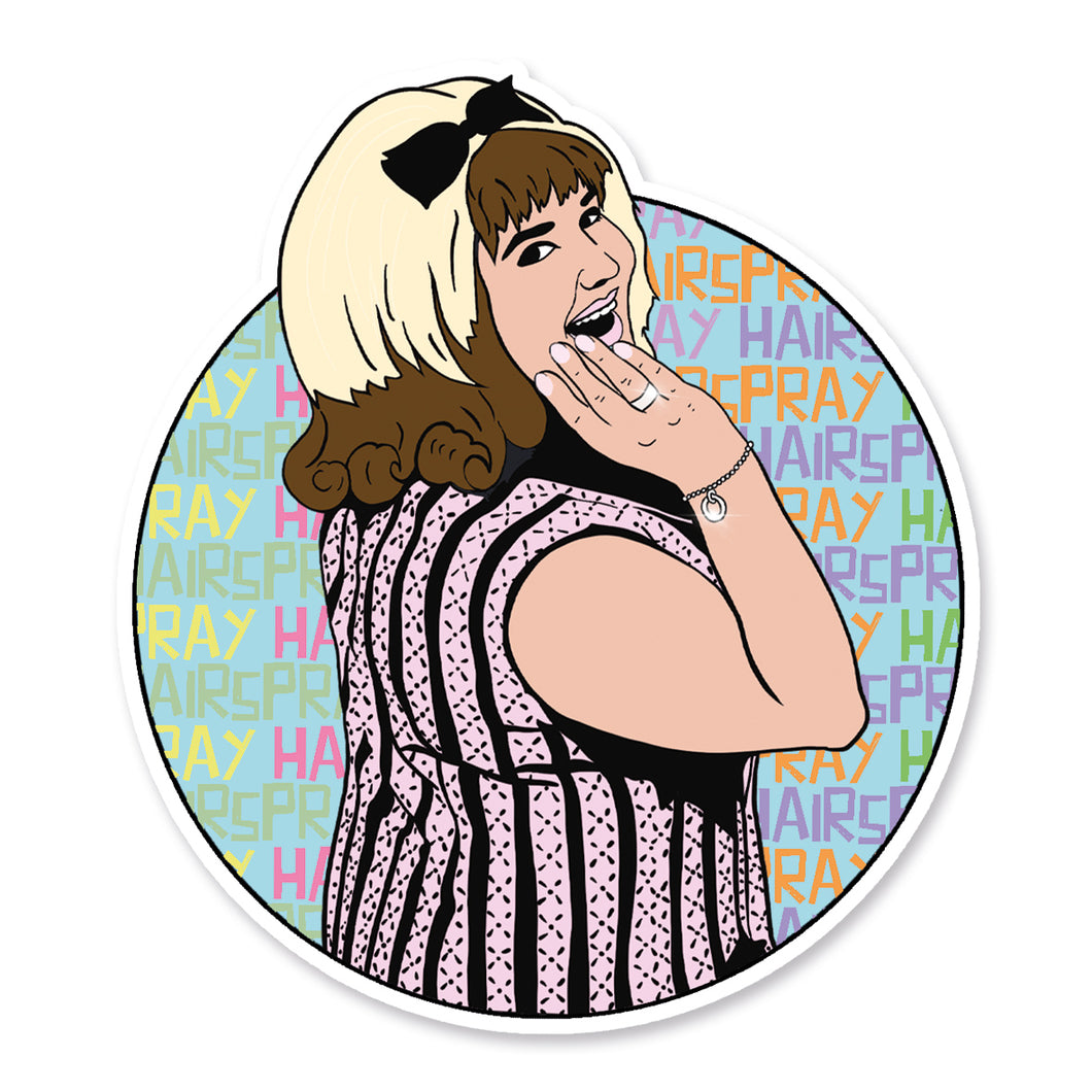 Hairspray Vinyl Sticker