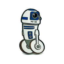 Load image into Gallery viewer, P3-3N Dick Droid Enamel Pin Badge