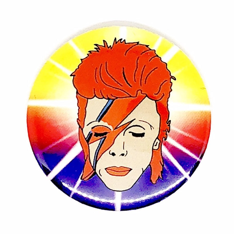 David Bowie Button Pin Badge
