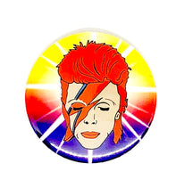 Load image into Gallery viewer, David Bowie Pocket Hand Mirror