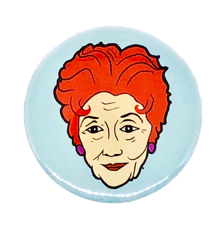 Dot Cotton Eastenders Inspired Pin Badge
