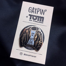 Load image into Gallery viewer, Tom Of Finland Enamel Pin Badge