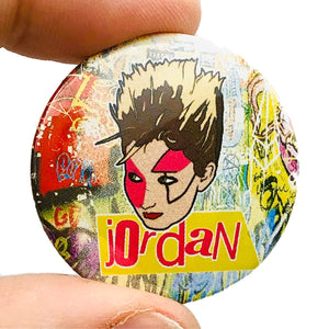 Jordan Button Pin Badge