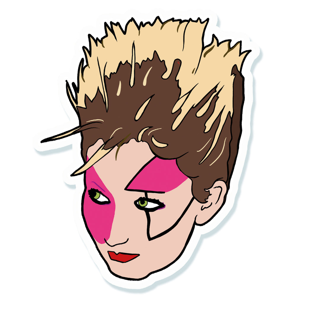 Punk Icon Jordan Vinyl Sticker
