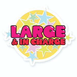 Latrice RuPauls Drag Race Large & In Charge Vinyl Stickers