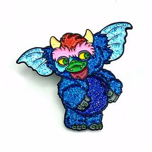 My Pet Gizmo Glitter Enamel Pin