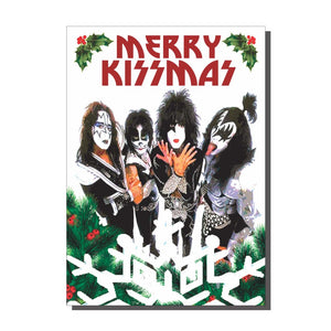 Merry Kissmas Kiss Christmas Card