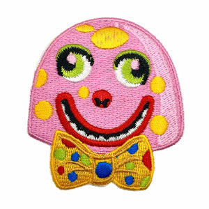 Mr Blobby Iron On Patch