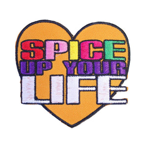 Spice Up Your Life Iron On Patch