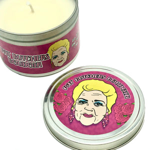 Pat Butcher's Boudoir Rose Scented Candle