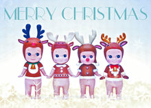 Load image into Gallery viewer, Snow Babies Christmas Card