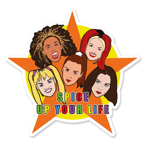 Spice Up Your Life Vinyl Sticker