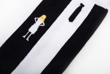Load image into Gallery viewer, Blondie Parallel Lines Album Cover Inspired Socks