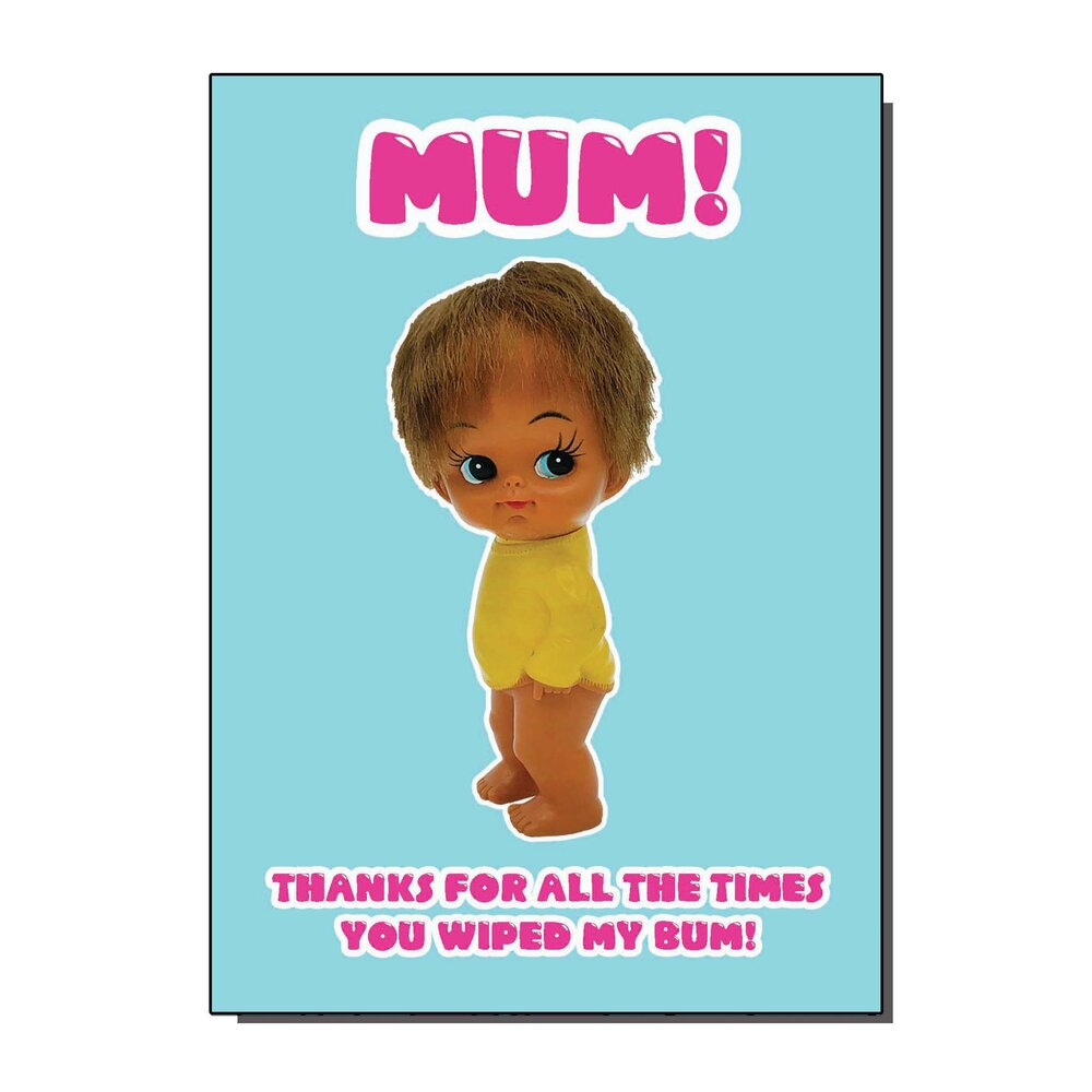 Thanks Mum Greetings Card