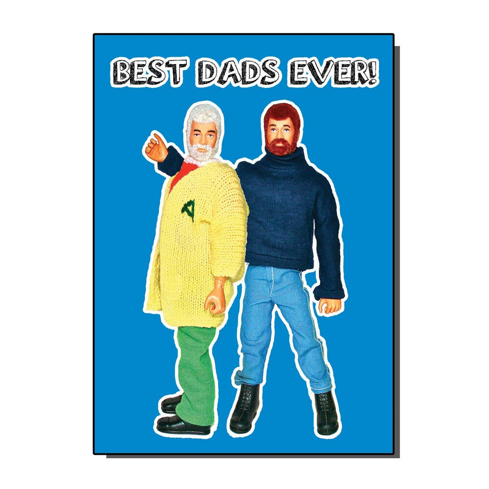 Best Dads Ever Greetings Card