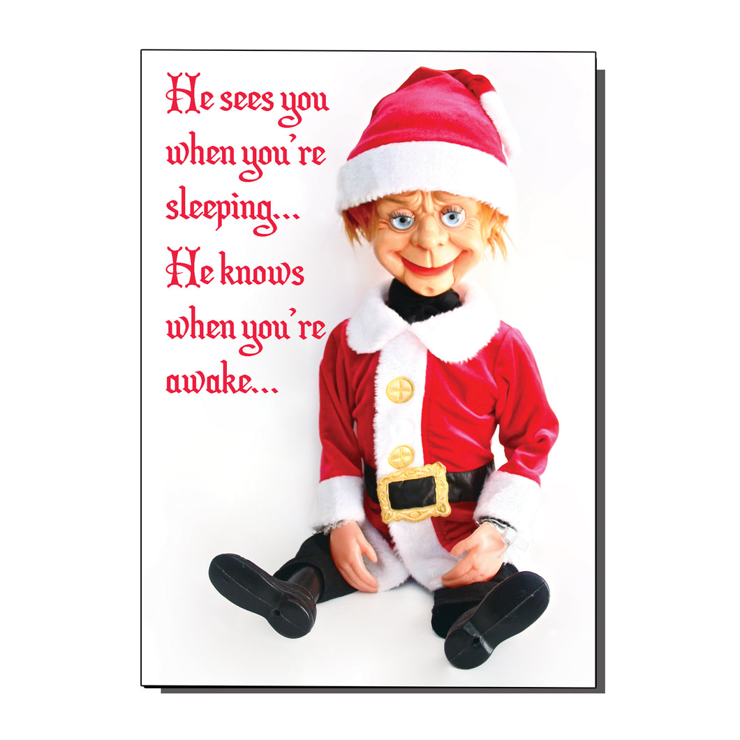 Christmas Creep Card