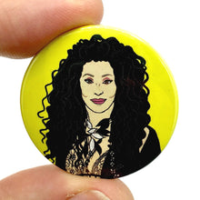 Load image into Gallery viewer, Cher Button Pin Badge