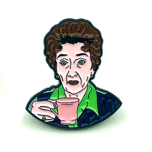 Dot Cotton Enamel Pin
